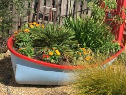Flower Boat at Cody Dock