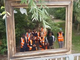 Volunteers at Cody Dock