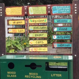 Cody Makers recyling station