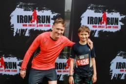 Justin at the end of his Iron Man run