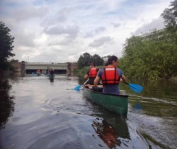 Photo of Tideway paddle past the Northern outfall