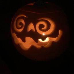 Halloween pumkin lantern